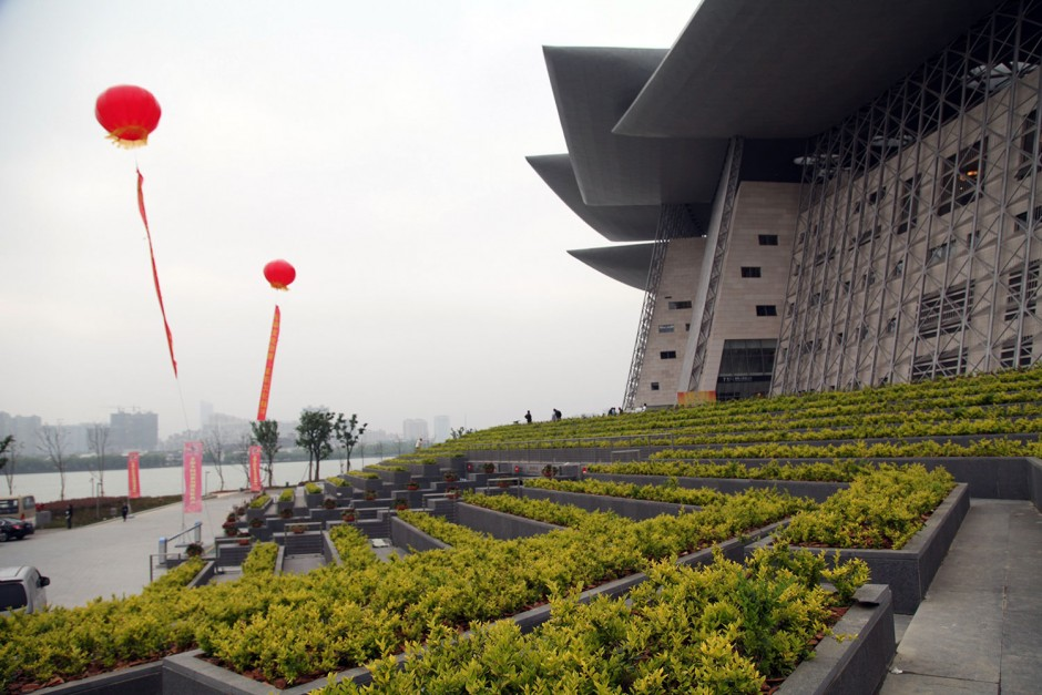 Wuxin oopperatalon rantapuisto, Kiina
