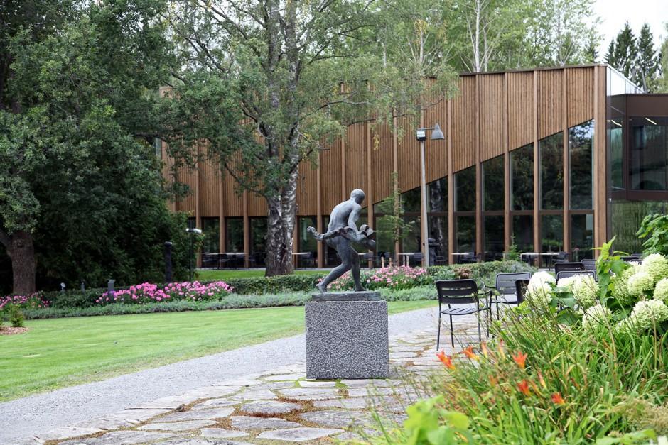 Serlachiuksen taidemuseo Gösta Mänttä